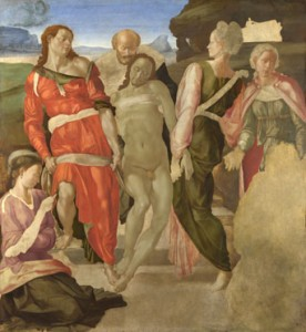 Michelangelo, Entombment, London