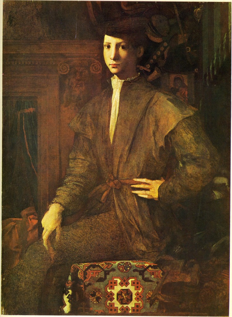 Portrait of a Seated Young Man, Naples