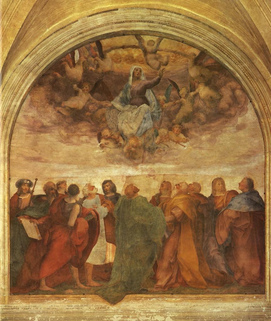 P.3 Assumption of the Virgin, restored