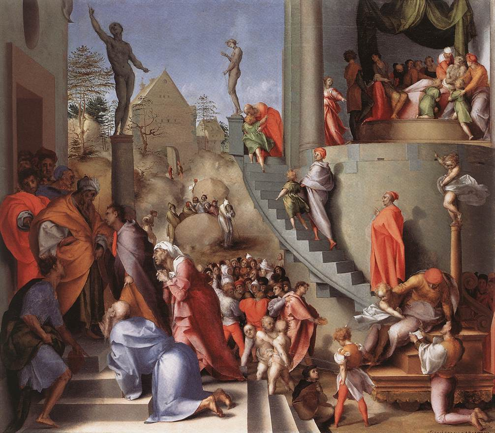 Fig. Pontormo, Joseph in Egypt