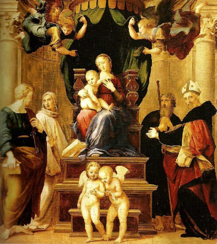 Fig. Raphael, Baldacchino