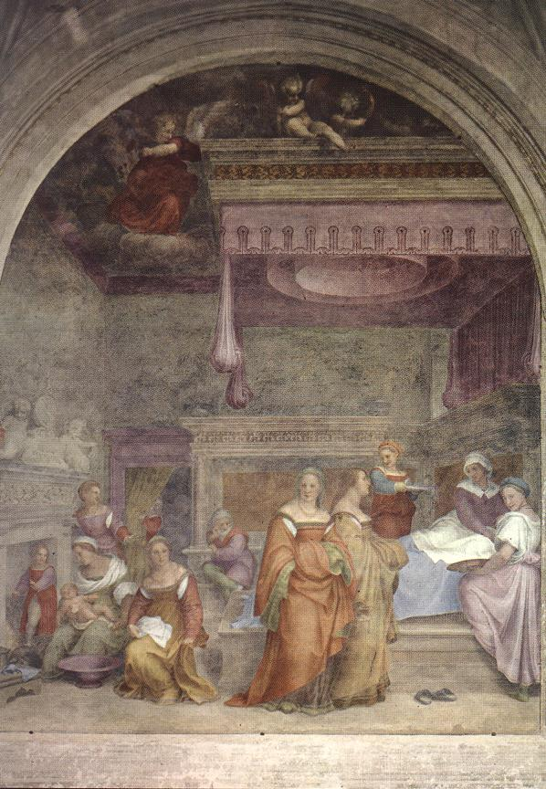 Fig. Sarto, Birth of the Virgin