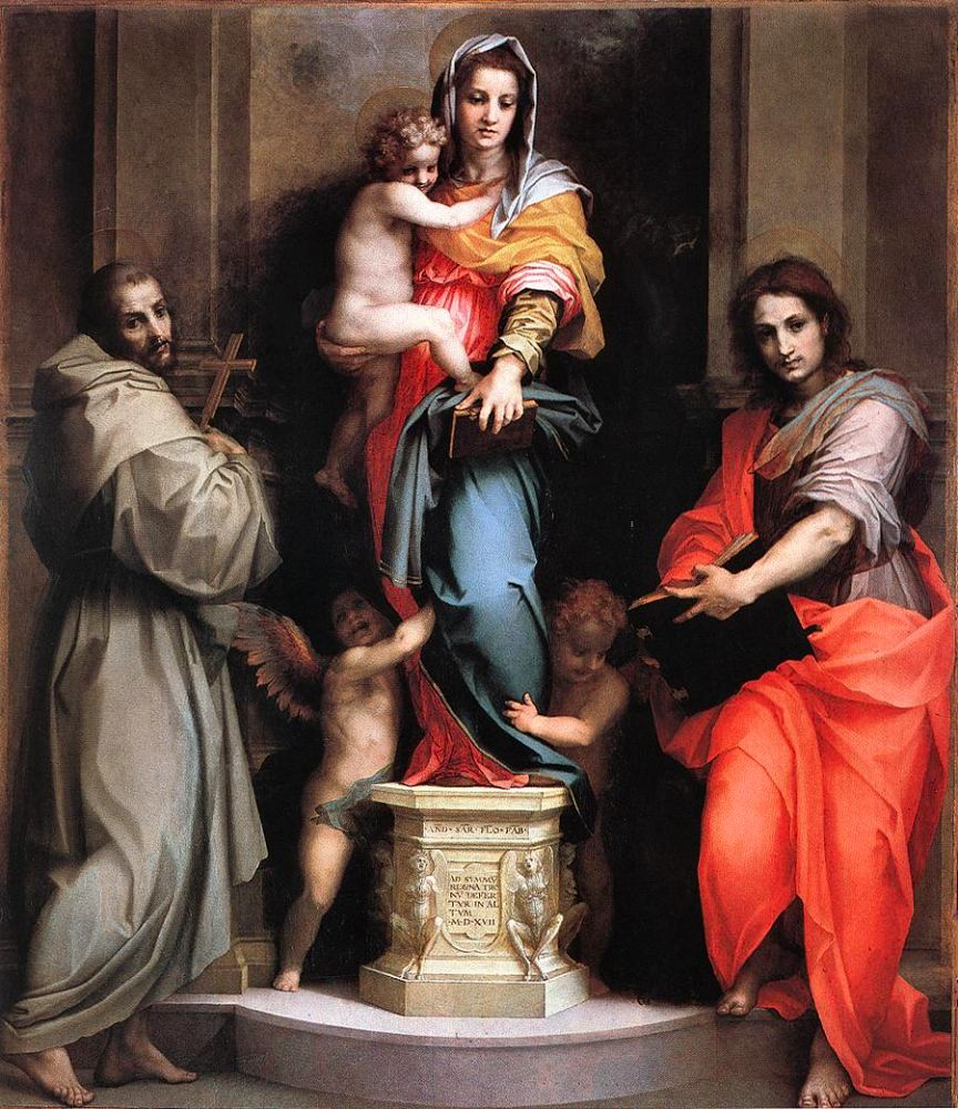 Fig. Sarto, Madonna of the Harpies