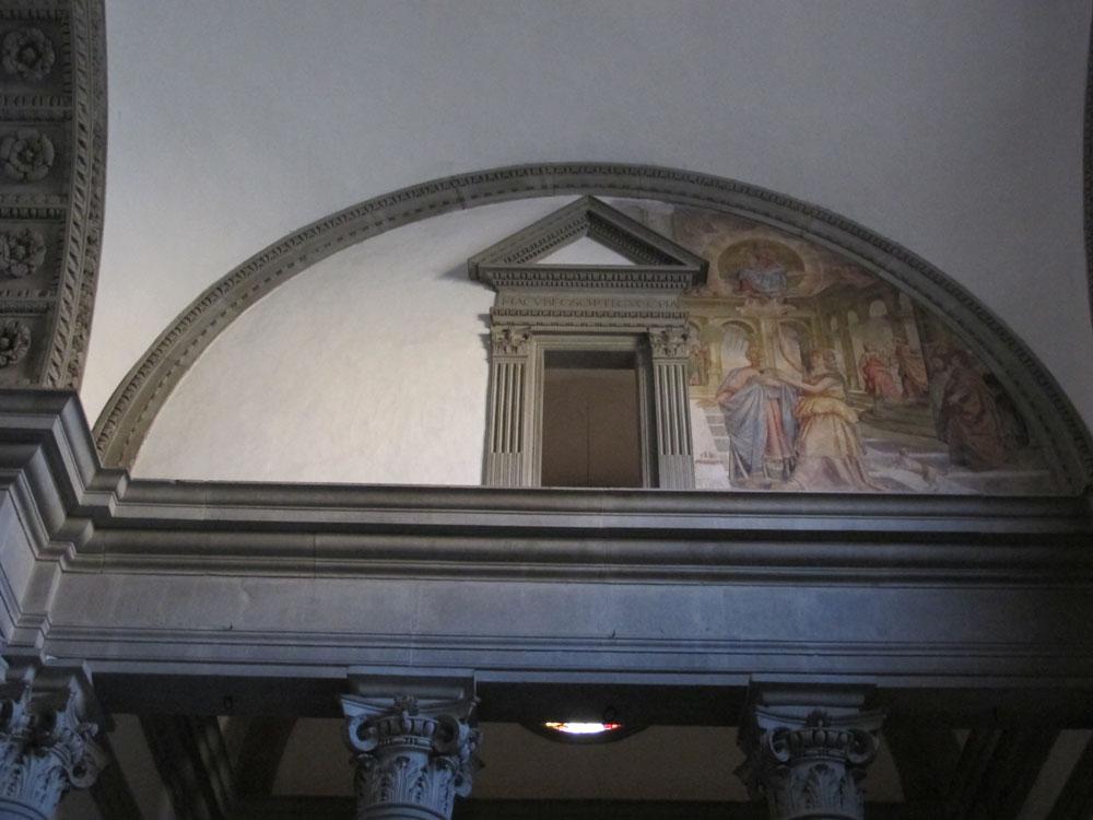 Fig. Soggi, Arezzo, Lunette