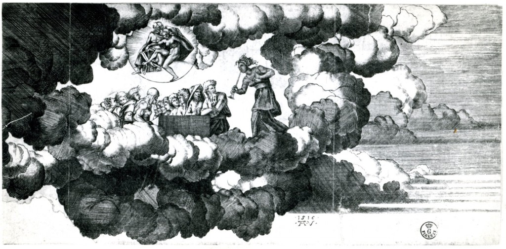 Fig. Veneziano,  Council of the Gods
