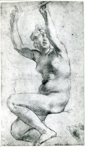 D.10 Seated Nude Woman