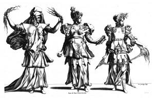 E.104 Three Fates Costume