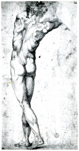 RD.13 Standing Nude Youth