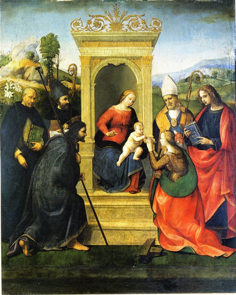 Fig. Ridolfo,  Mystic Marriage to St. Catherine of Alexandria