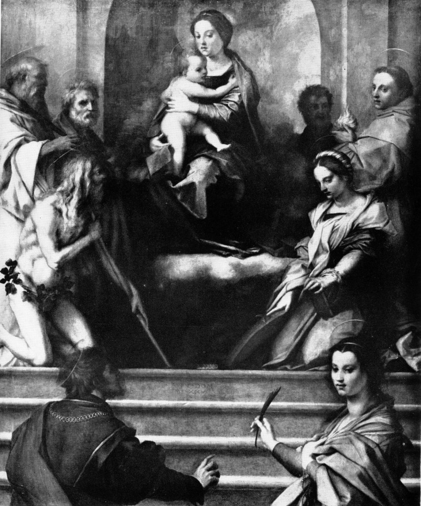 Fig. Sarto,  Sarzana Altarpiece