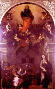 Fig. Albertinelli, Annunciation, color