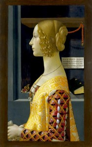 Fig. Ghirlandaio,  Portrait of Giovanna Tornabuoni