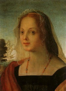 Fig.P1a Rosso, Portrait of a Young Woman as Mary Magdalen