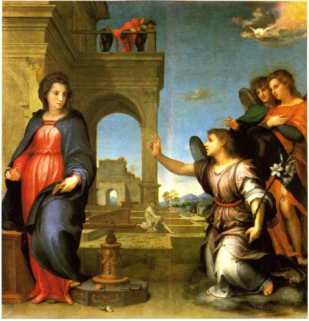 Fig. Sarto, Annunciation