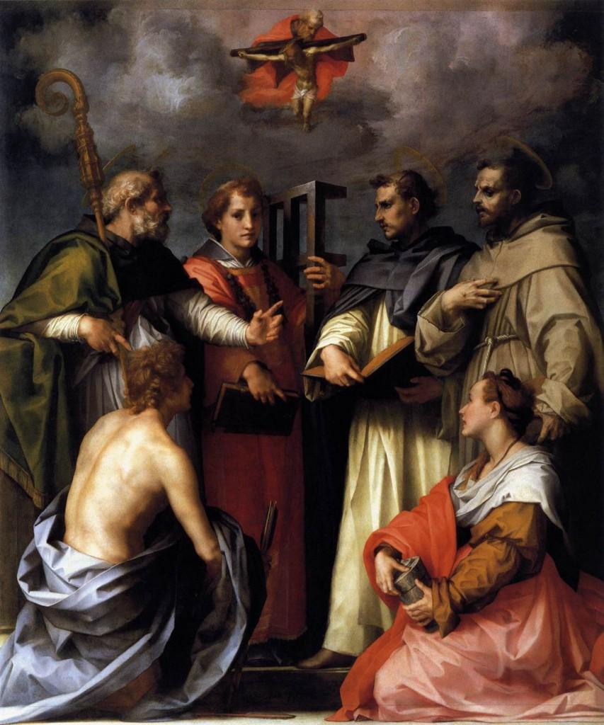 Fig. Sarto, Disputation on the Trinity