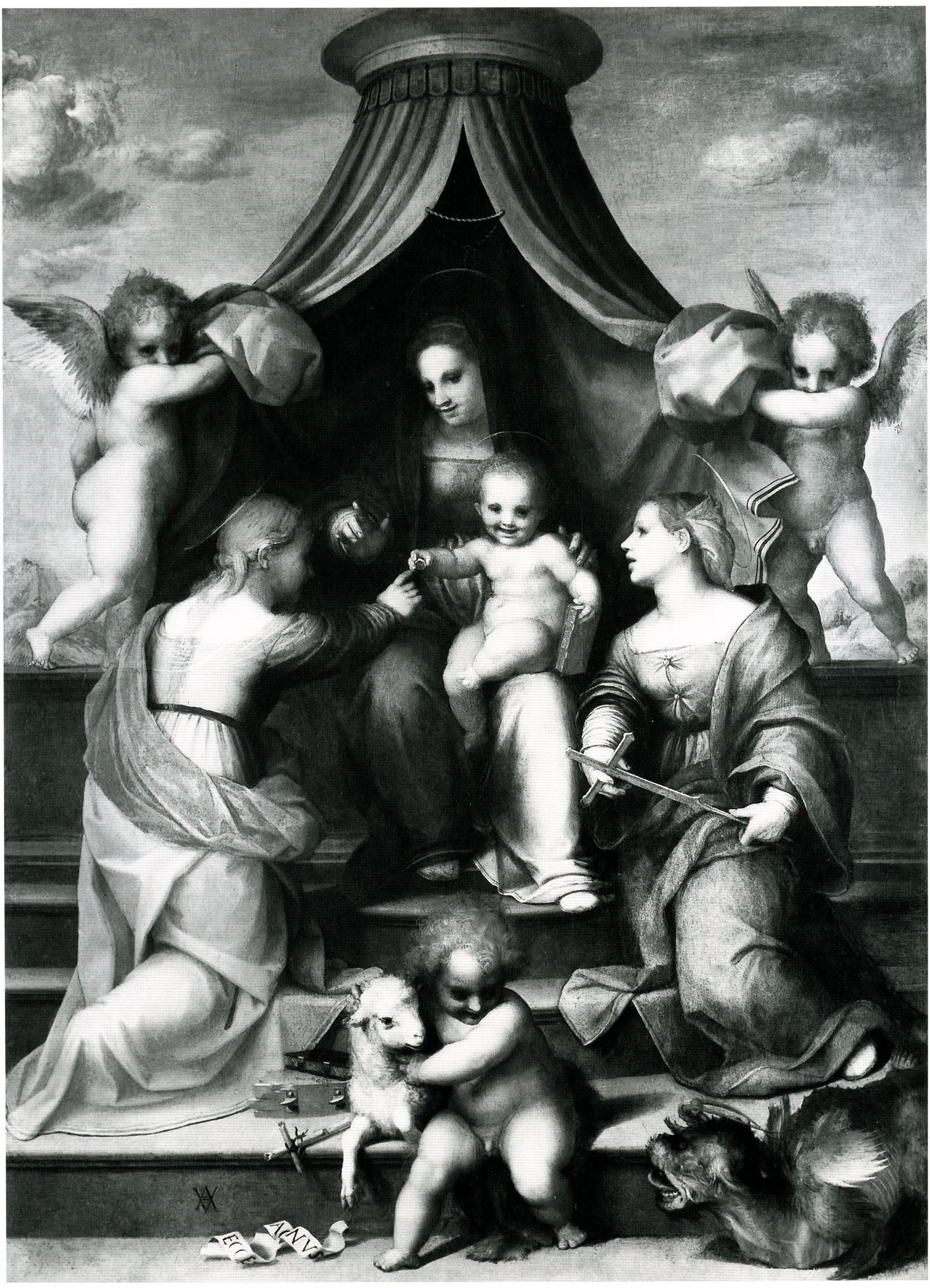 Fig. Sarto, Marriage of St. Catherine in Dresden