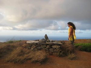 Kaho'olawe is considered a sacred site for Native Hawaiians and is associated with Kanaloa the god of the ocean.