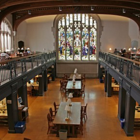 The scholars saw the inside of the Vassar library- it's absolutely beautiful