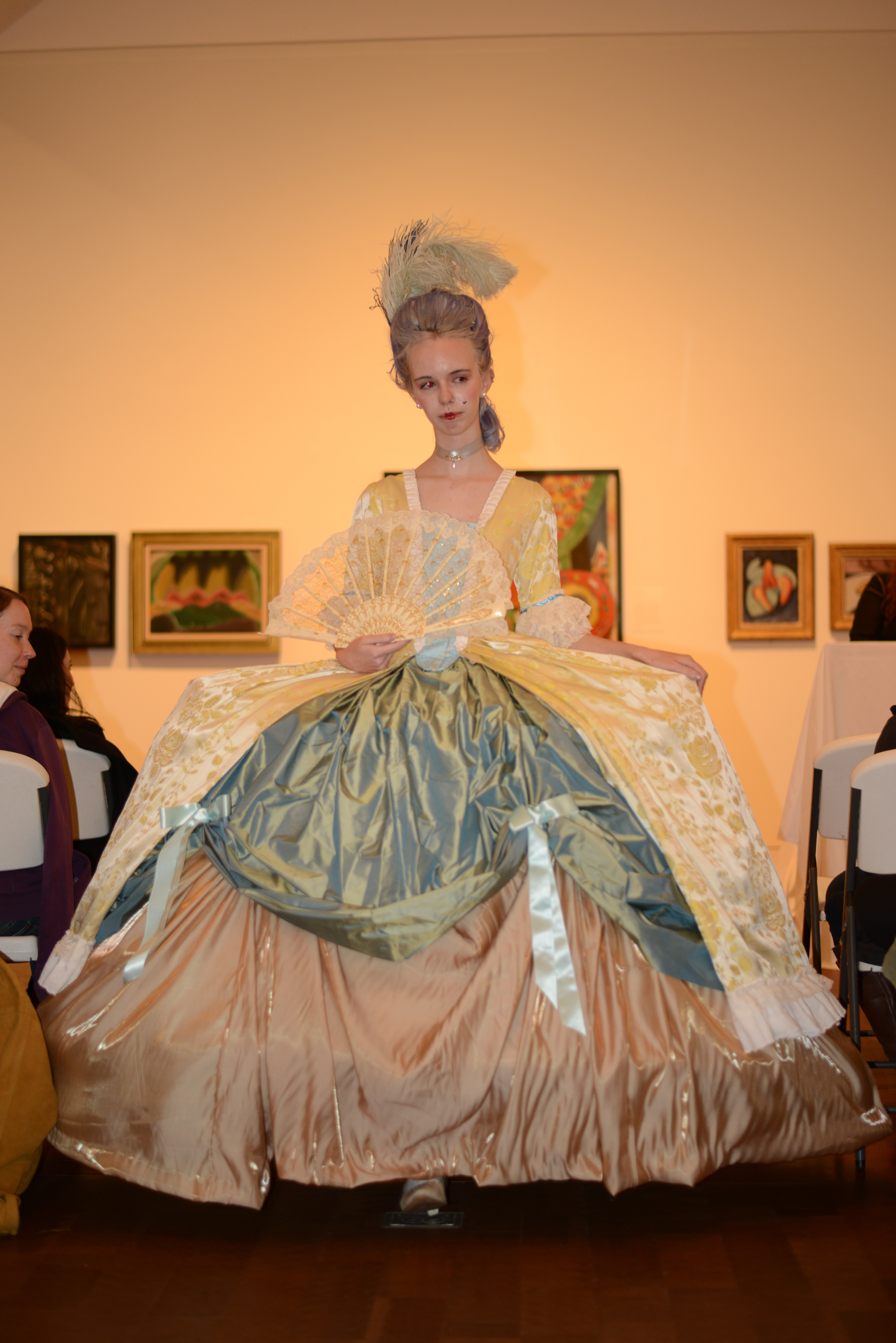 Rococo Look From The Contrast Fashion Show  U2013 Vassar